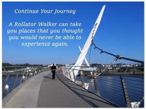 Travel with a Rollator Walker
